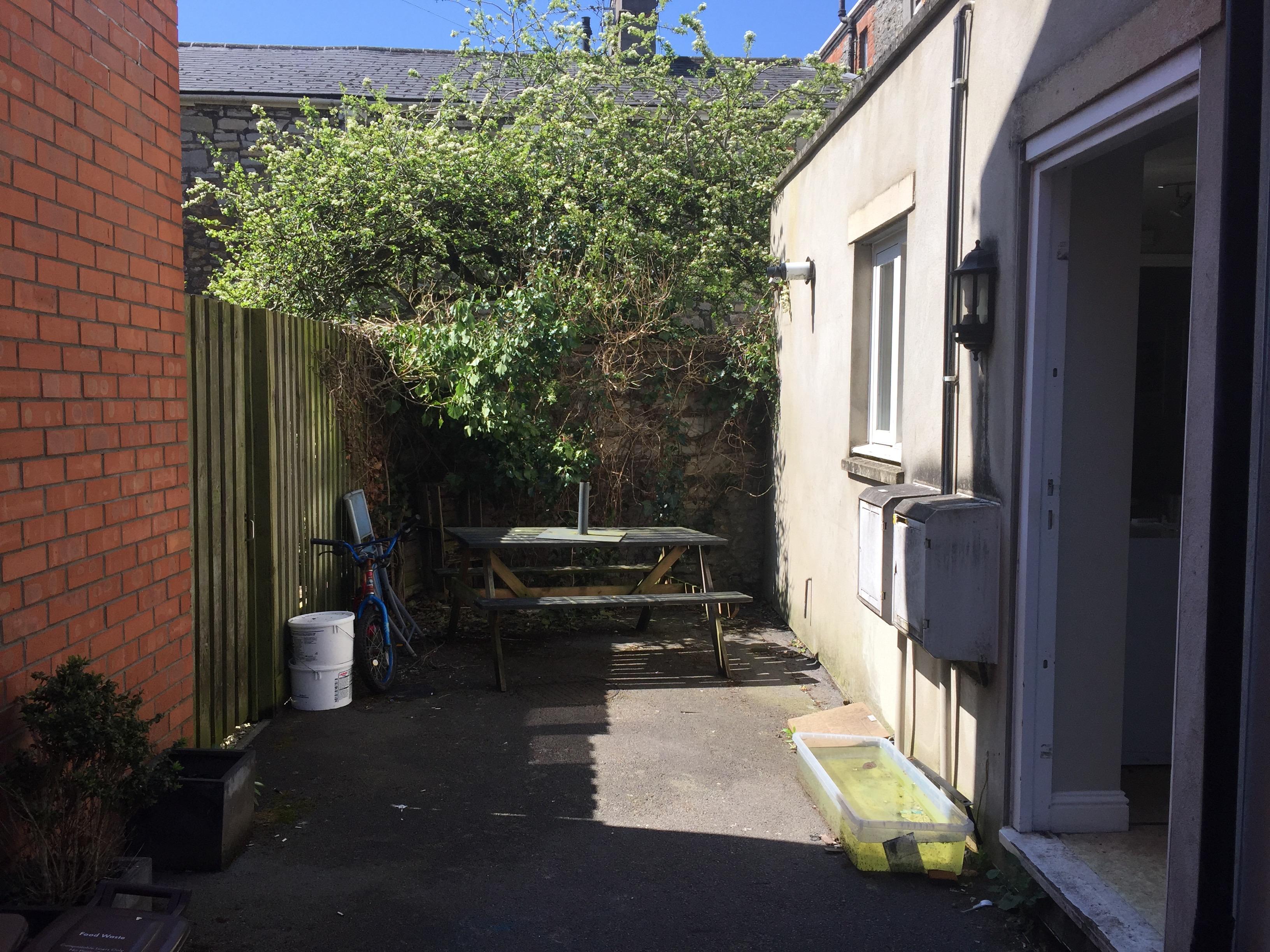 Rear Communal Courtyard