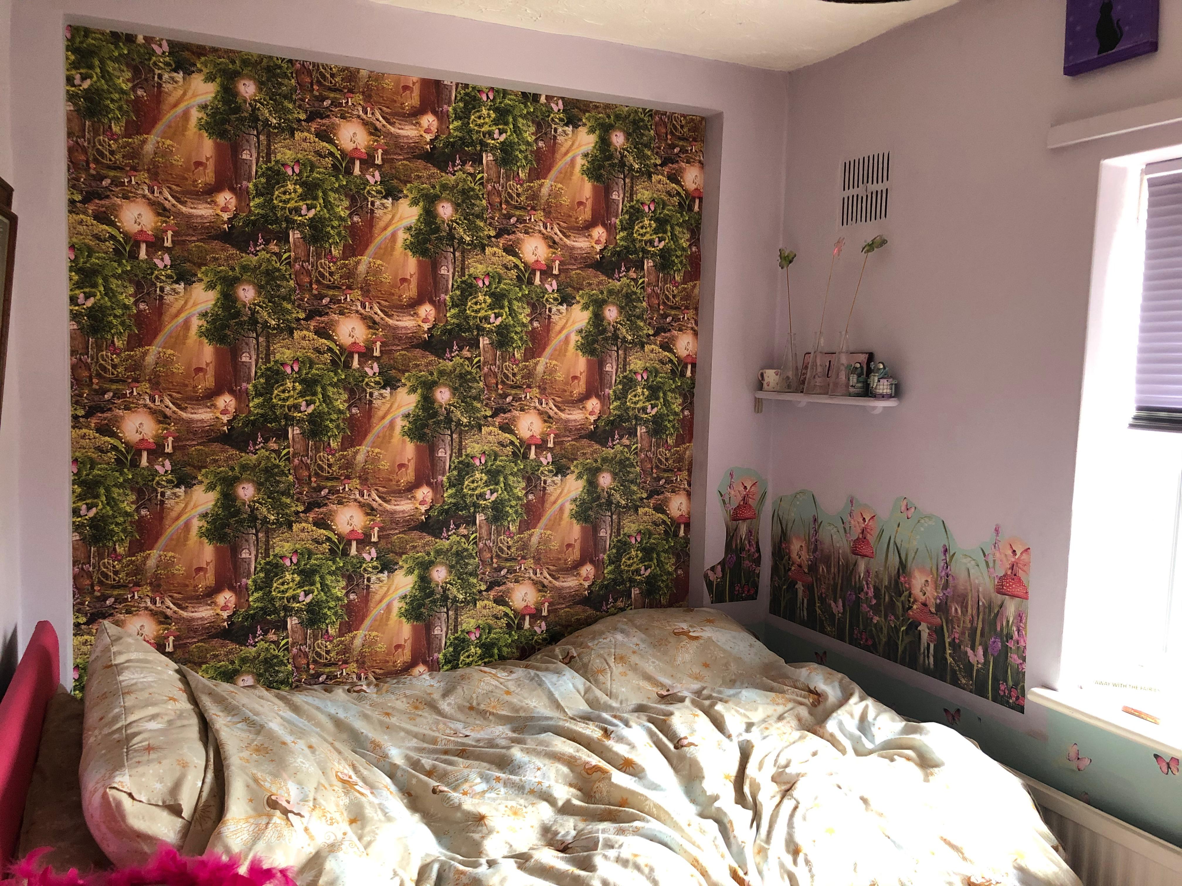 Bedroom 1 - Fairies theme Pic B