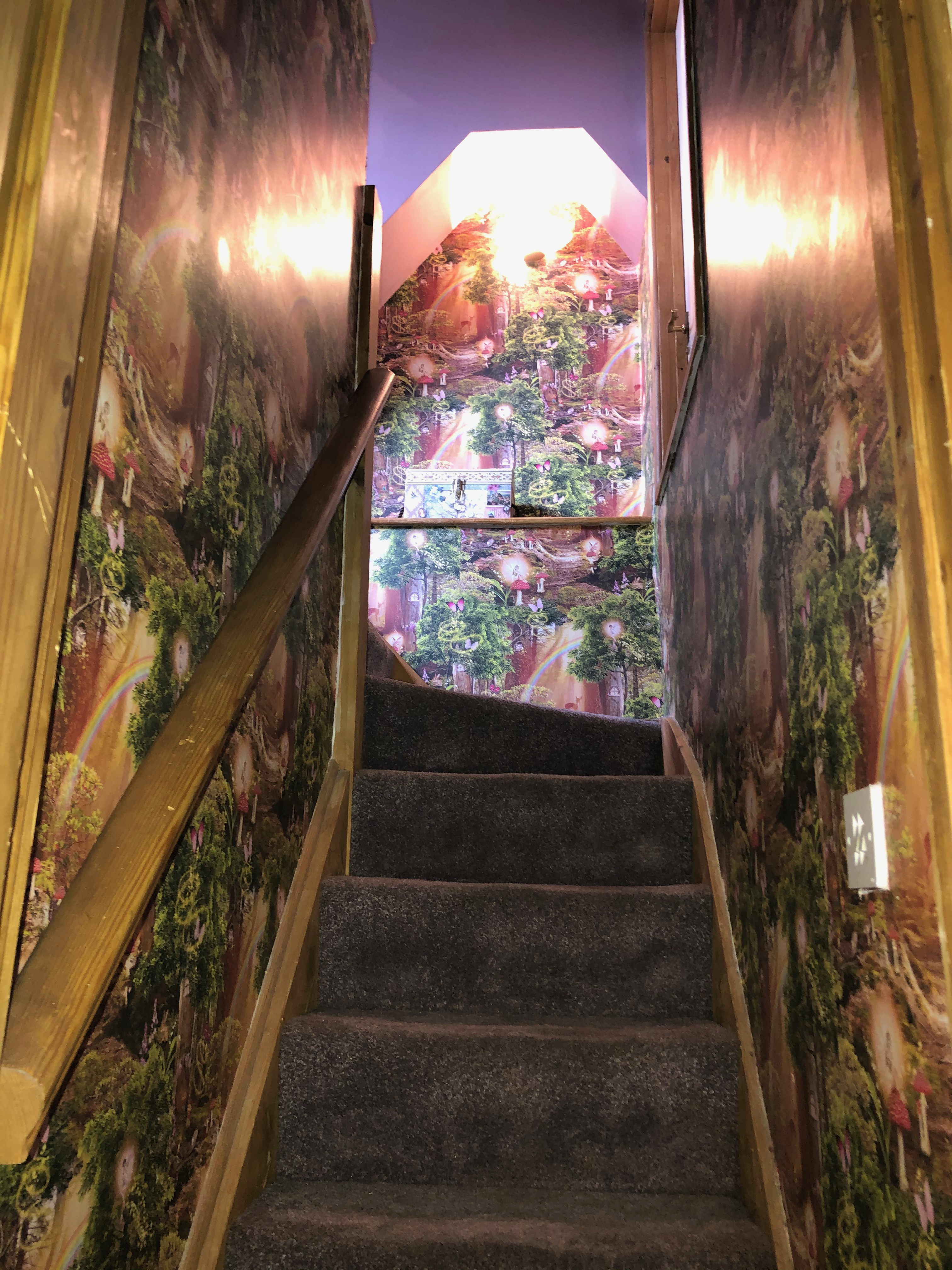 Stair well to Bedroom 4 - pixies
