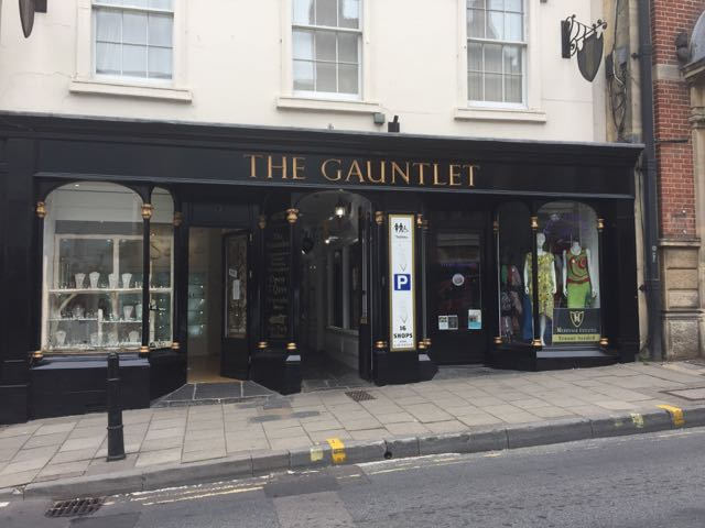 Front view of Gauntlet